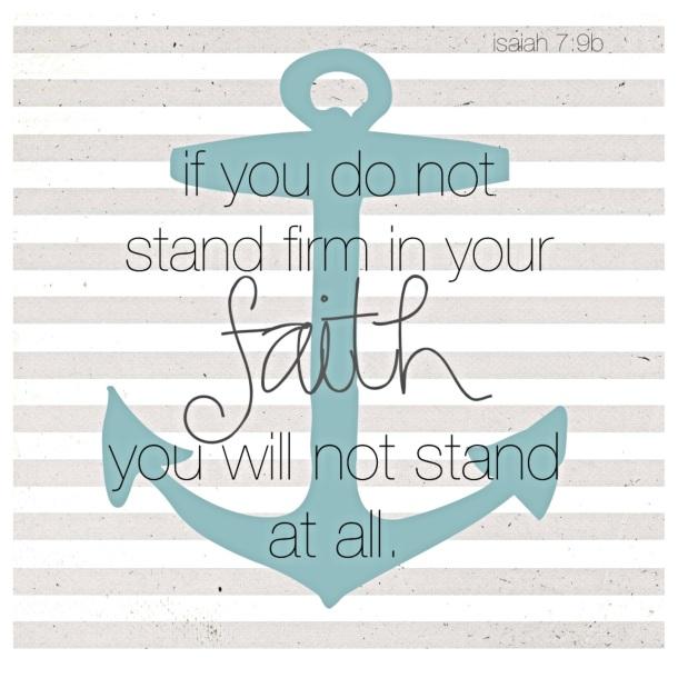 Wednesday Wisdom - Isaiah 7:9b