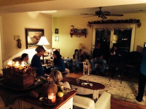thanksgiving at home