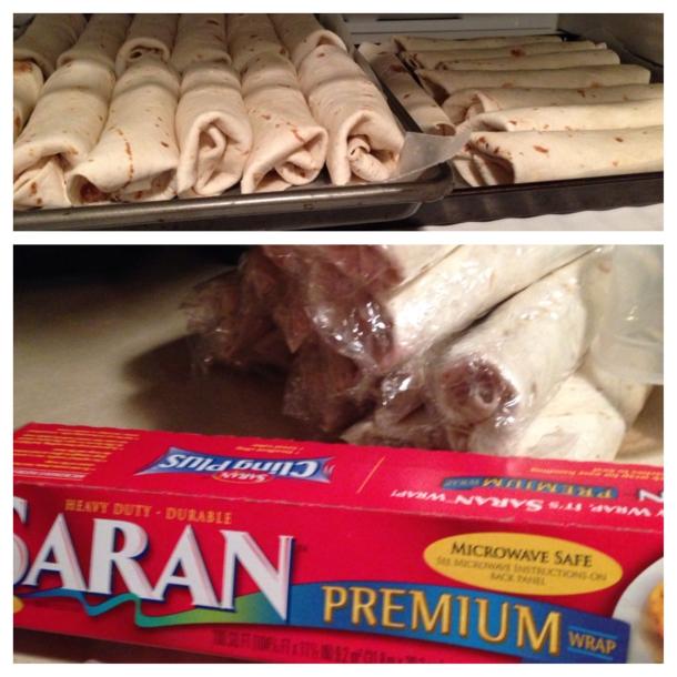 saran/plastic wrap