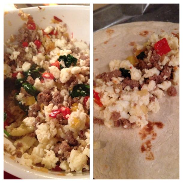 tortilla rolling